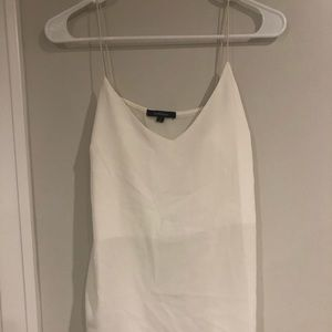 The White Simple Tank